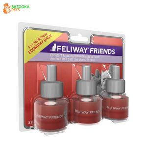 lot de 3 RECHARGEs diffuseur FELIWAY FRIENDS